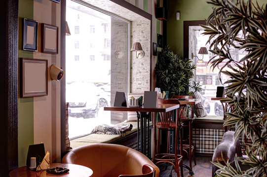 small cafe shop interior design and fit-outs
