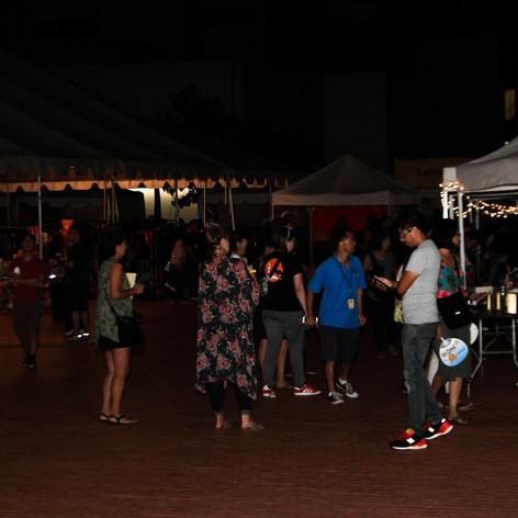 Nightfall on the Plaza