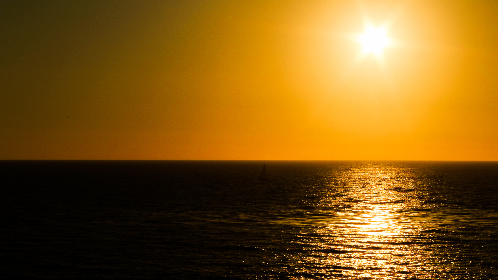 Sunset Over Crystal Cove