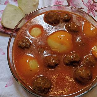 P-1 Albondigas en salsa de tomate