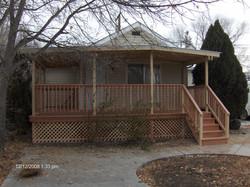 Front porch deck