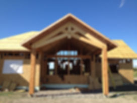 Timber truss framing