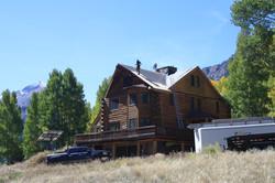 An older cabin gets a facelift...