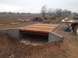 Custom milled and installed bridge