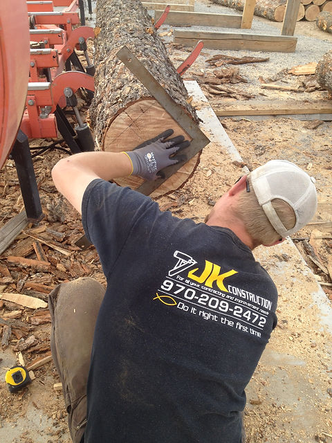 Owner, Justin Kasendieck, JK Construction, Montrose, CO