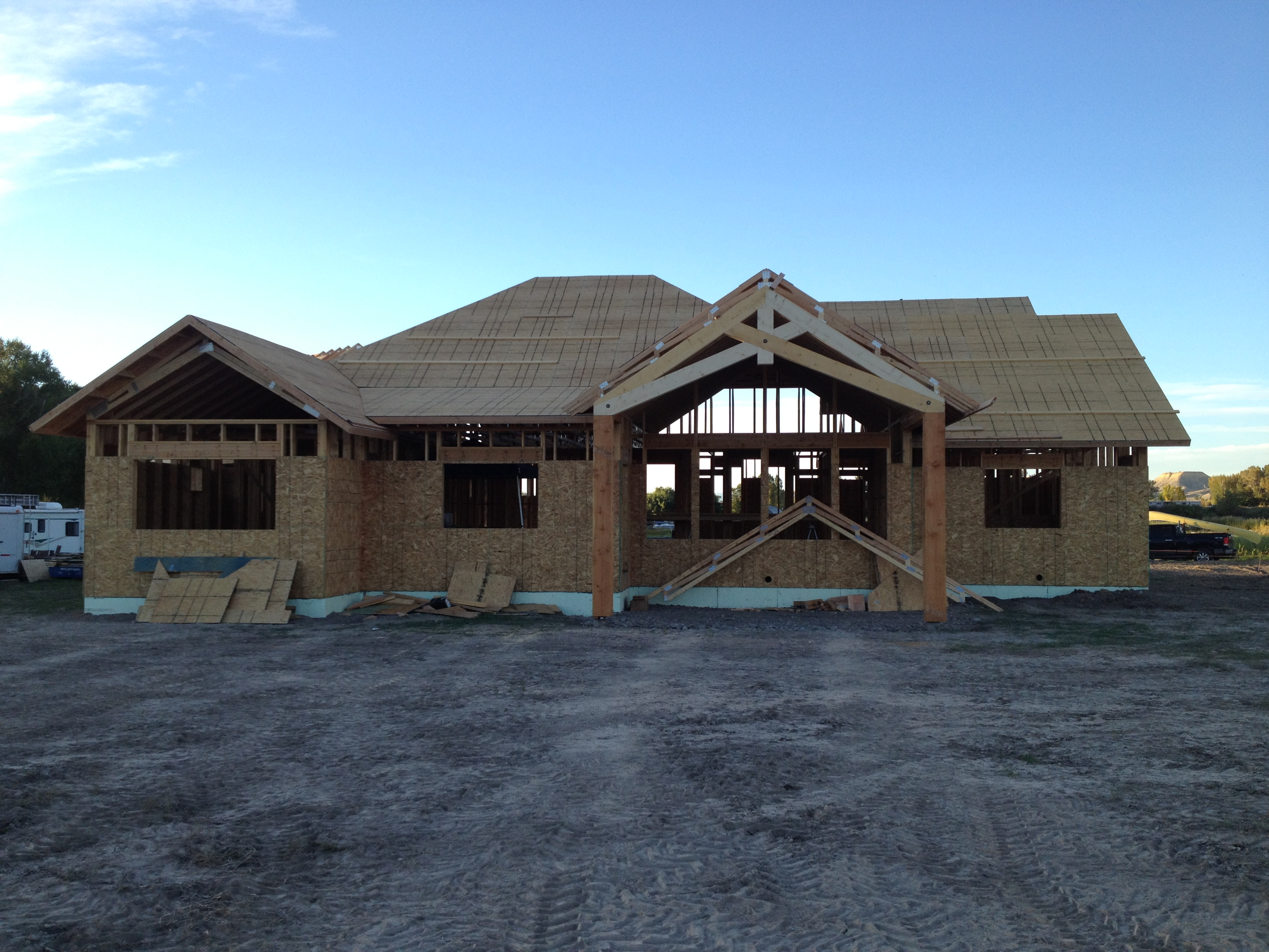 Custom timber trusses