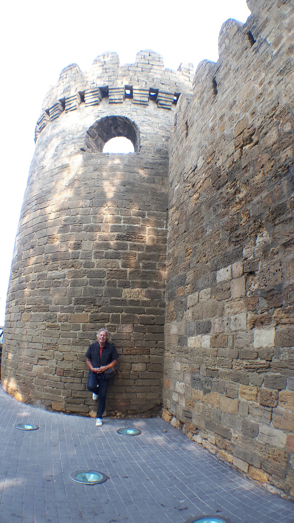 12th century fortress wall.