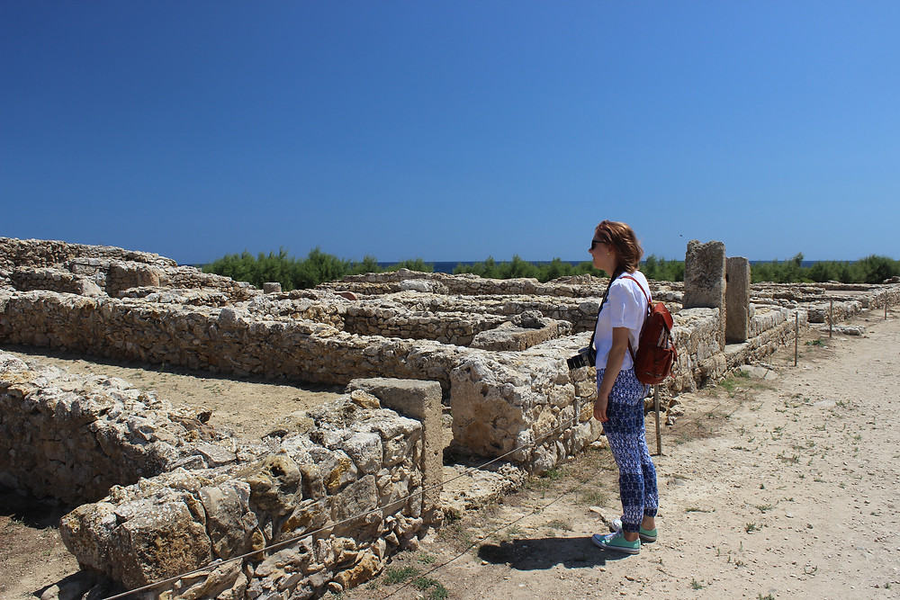 zzling turquoise Mediterranean coast, is the world's best preserved example of an Carthaginian city.