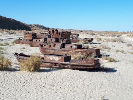 The Disappearing Aral Sea