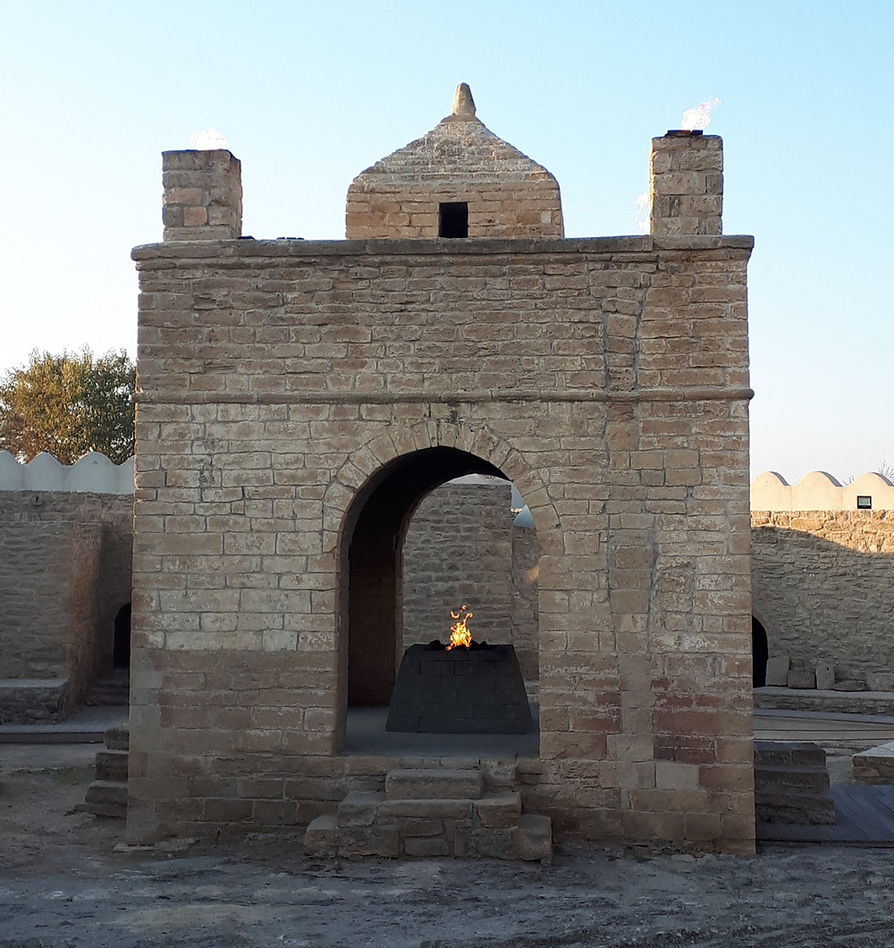 Zoroastrian Fire Temple.