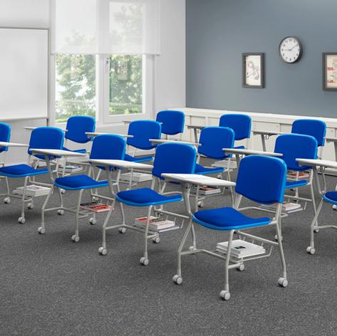 Cadeiras universitárias linha 46