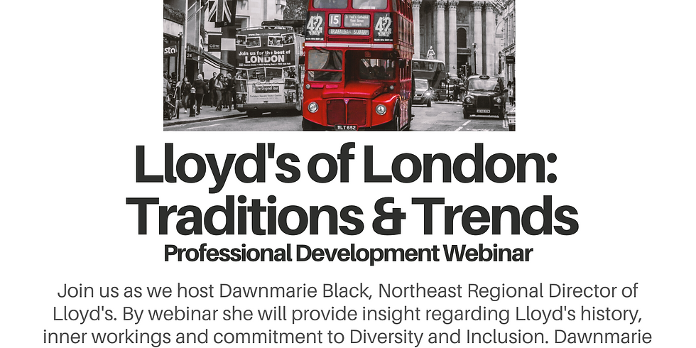 Lloyd's of London: Traditions & Trends