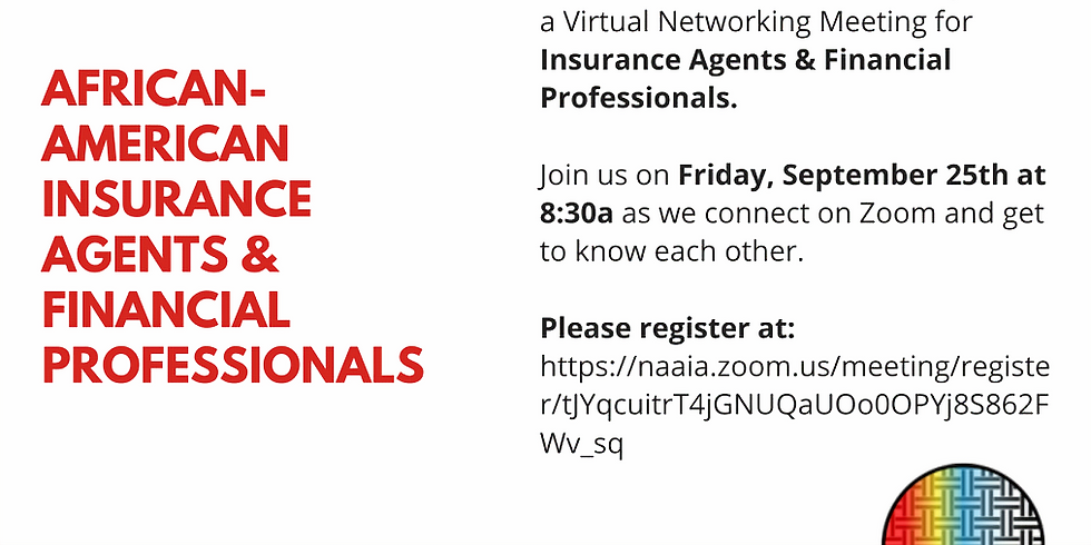 Insurance Agents & Financial Professionals Networking Event