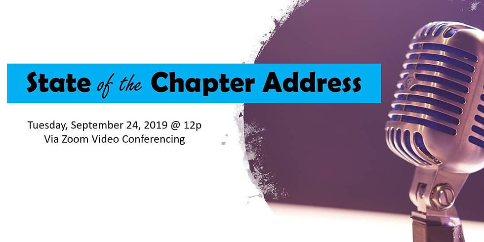 State of the Chapter Address