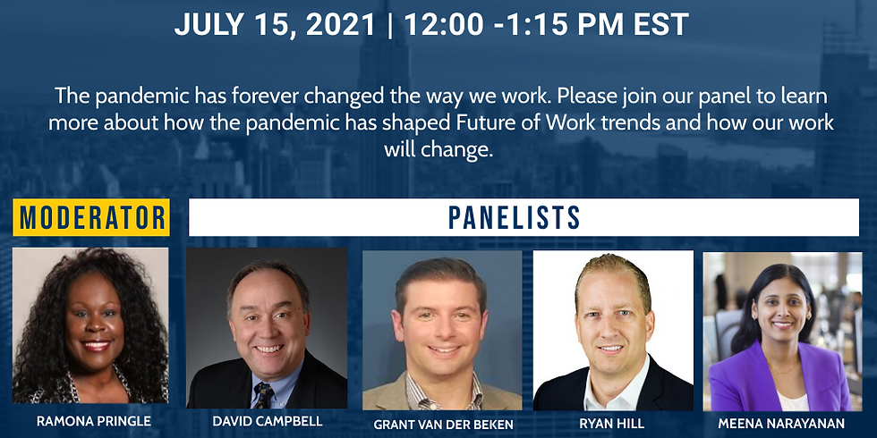 NAAIA Greater Hartford Chapter Presents: Future of Work