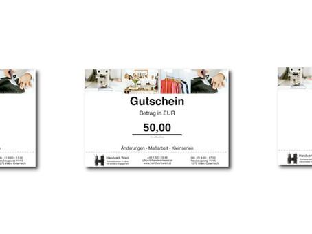 Gutscheine im Online-Shop kaufen