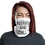 Thumbnail: Quarantine and Chill FaceMask (White/Silver)