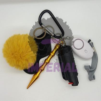Yellow Safety Defense keys