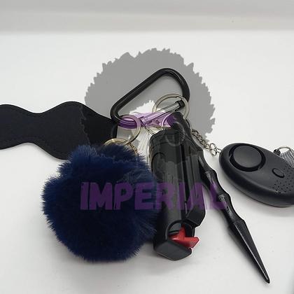 Dark Blue Safety Defense keys