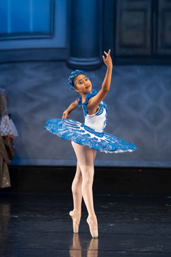 """Inspire School of Ballet dancer solo picture taken from our """"Sleeping Beauty"""" performance."""