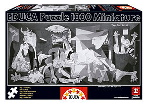 1000pc GUERNICA, PICASSO MINIATURE 14460