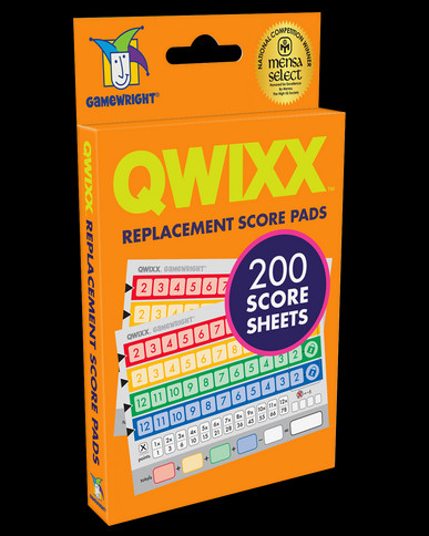 Qwixx Score Pads