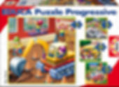 VEHICLES PROGRESSIVE PUZZLES 14868