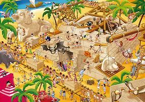 1000pc ANCIENT EHYPT 16345