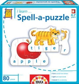 I LEARN SPELL A PUZZLE 16416