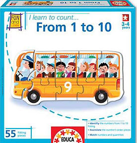 I LEARN TO COUNT FROM 1 TO 10 16415