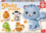 5 BABY PUZZLES 13473