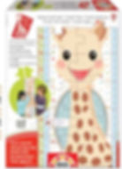 SOPHIE THE GIRAFFE GROWTH CHART 15505