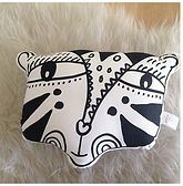 Wee Gallery Organic Cotton Tiger Cushion