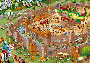 1000pc MIDDLE AGES