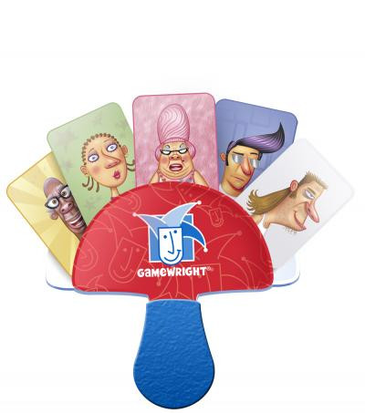 Hey boys and girls! Give a big hand for this amazing card holder that makes playing card games easier than ever. Put as many cards as you can between the plastic paddles and before you know it, you'll be playing like a pro!