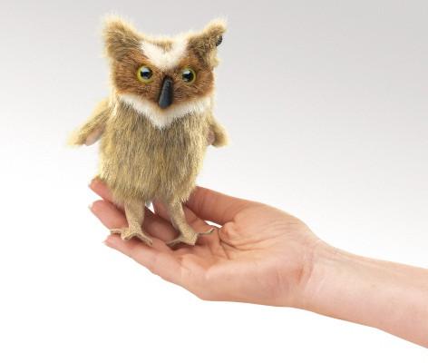 Mini Great Horned Owl