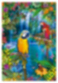 500pc TROPICAL BIRD LAND 15512