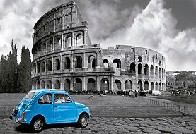 1000pc COLISEUM ROME MINIATURE 15996