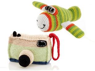 Transport & Fun Rattles