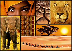 1000pc COLOURS OF AFRICA