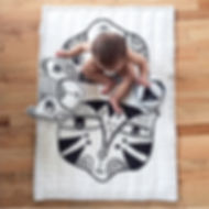 Wee Gallery Organic Quilt - Wild