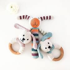 Wooden Teethers & Stick Rattles