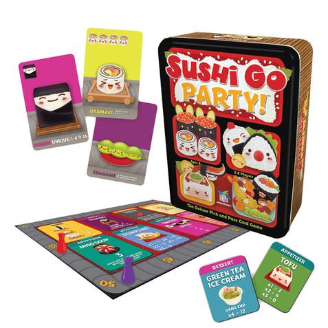 #9 Sushi Go Party!