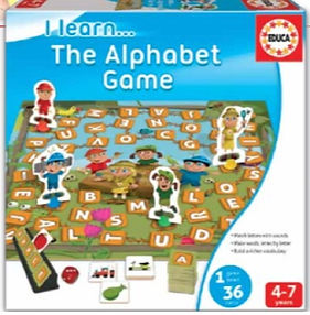 I LEARN THE ALPHABET GAME 16421