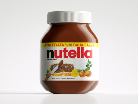 Nutella - Now 10% more