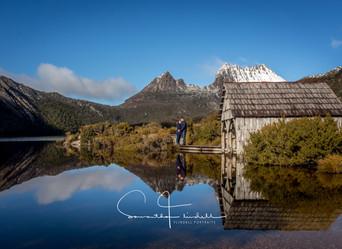 Natasha's & Roberts Engagement Session At Cradle Mountain Tasmania