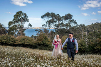 Nadia & Alex's Wedding at Glen Albyn Hobart - Hobart Photographer