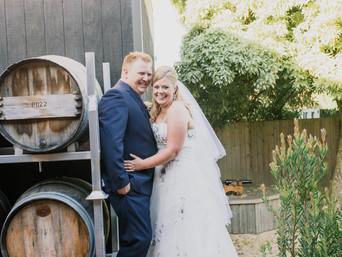 Jessica & Damien's wedding at Josef Chromy