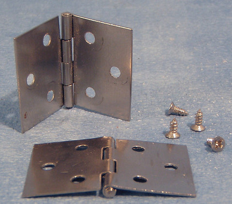 PACK OF 4 HINGES AND SCREWS  FREE POST