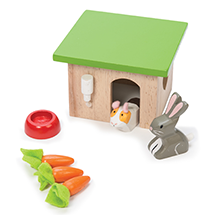 BUNNY RABBIT AND GUINEA PIG SET
